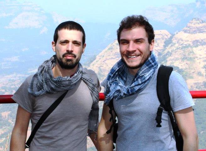 Andrea Scalogna e Riccardo Parrino